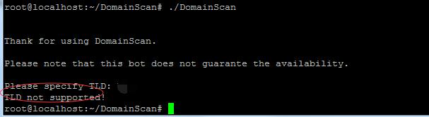《全球200多个域名后缀的域名扫描工具》