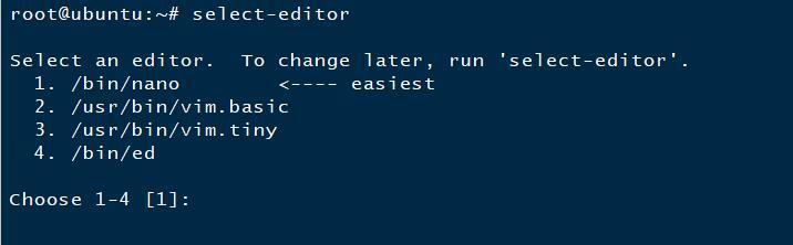 《crontab编辑器选错后的解决方法》
